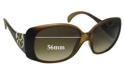 Fendi FS 5064 Replacement Sunglass Lenses - 56mm wide