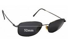 Flexon Autoflex 47 Replacement Sunglass Lenses  - 52mm Wide