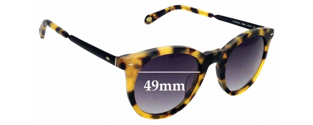 78d95dd168 Fossil FOS 2053 SReplacement Lenses 57mm Wide by The Sunglass Fix®