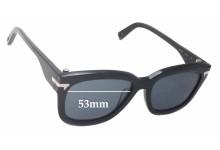 G-Star Raw GS602S Wayfarer Replacement Sunglass Lenses - 53mm wide