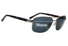 Sunglass Fix Replacement Lenses for Gant GA7079 58mm wide