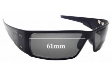 Sunglass Fix Replacement Lenses for Gatorz Octane - 61mm wide