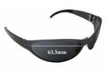 be473513564 Sunglass Fix Replacement Lenses for Gatorz Unknown Model - 63.3mm wide -  33.5mm tall