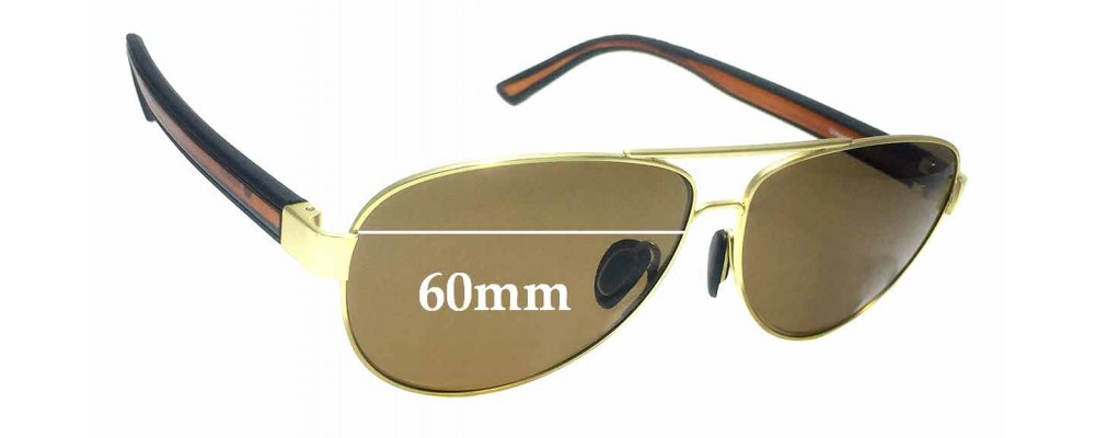 Gidgee Equator Replacement Sunglass Lenses - 60mm wide