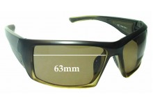 Sunglass Fix Replacement Lenses for Gill Edge - 63mm Wide
