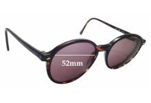 Sunglass Fix Replacement Lenses for Giorgio Armani 325 - 52mm wide