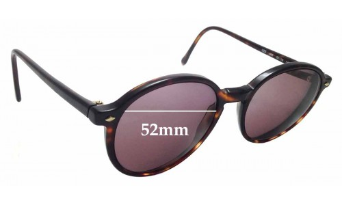 Sunglass Fix Replacement Lenses for Giorgio Armani 325 - 52mm wide