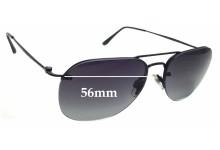 Sunglass Fix Replacement Lenses for Giorgio Armani AR 6004 - 56mm Wide