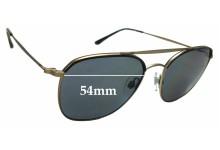 Sunglass Fix Replacement Lenses for Giorgio Armani  AR 6058-J - 54mm wide