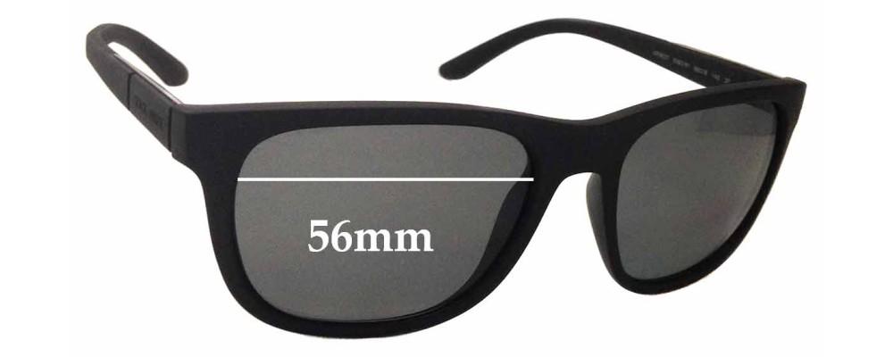 a708a273d55f Giorgio Armani AR8037 Replacement Sunglass Lenses - 56mm wide