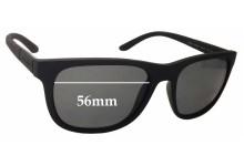 Giorgio Armani AR8037 Replacement Sunglass Lenses - 56mm wide