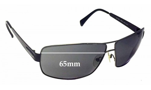 Giorgio Armani GA 750/S Replacement Sunglass Lenses - 65mm Wide