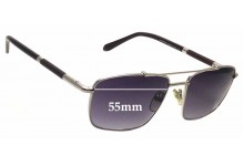 Sunglass Fix New Replacement Lenses for Givenchy VGV433 - 55mm Wide