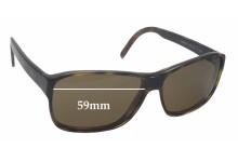 GOTTI HAMLET HBL Replacement Sunglass Lenses - 59mm wide