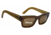 Sunglass Fix Replacement Lenses for Graz - Chronicles Of Never - Water Nourishes Wood - 49mm tall