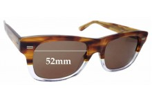Sunglass Fix Replacement Lenses for Gucci GG1078/S - 52mm Wide