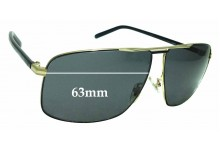 Sunglass Fix Replacement Lenses for Gucci 2214/K/S - 63mm wide