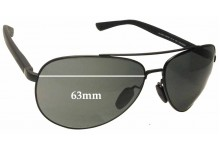 Gucci GG2266/S Replacement Sunglass Lenses - 63mm wide
