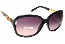 Gucci 3671/S Replacement Sunglass Lenses - 62mm wide