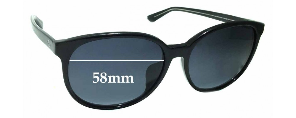 Gucci GG 3733/F/S Replacement Sunglass Lenses - 58mm wide