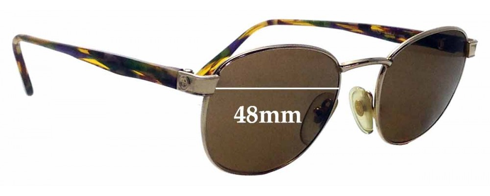Sunglass Fix Replacement Lenses for Gucci GG 1317 - 48mm wide