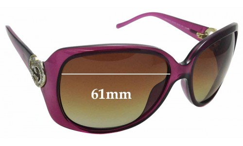 Sunglass Fix Replacement Lenses for Gucci GG 3548/S - 61mm wide