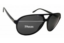 Gucci GG 1026/S Replacement Sunglass Lenses - 59mm wide