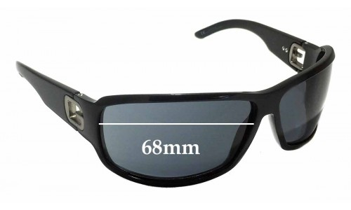 Gucci GG 1583/S Replacement Sunglass Lenses - 68mm Wide