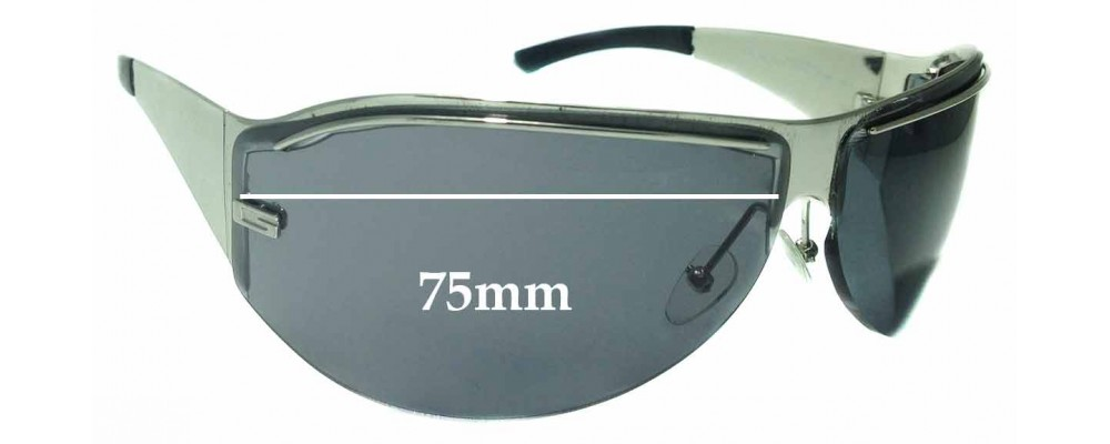 Sunglass Fix Replacement Lenses for Gucci GG1728/S - 75mm wide **The Sunglass Fix Cannot Provide Lenses For This Model Sorry**