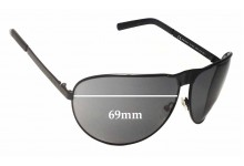 Gucci GG1813/S Replacement Sunglass Lenses - 69mm wide