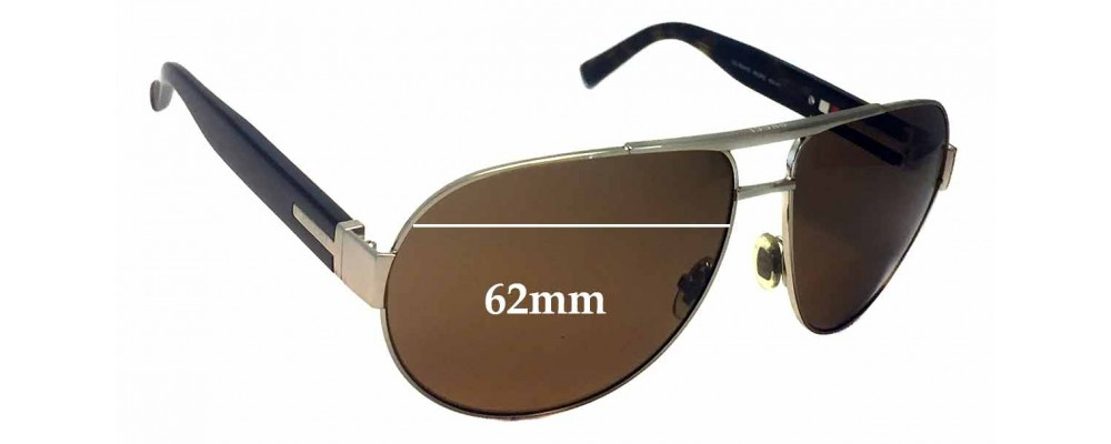 Gucci GG1924/S Replacement Sunglass Lenses - 62mm Wide