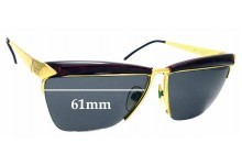 Sunglass Fix Replacement Lenses for Gucci GG2311/S - 61mm wide