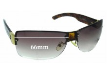 Gucci GG2803/F/S Replacement Sunglass Lenses - 66mm wide