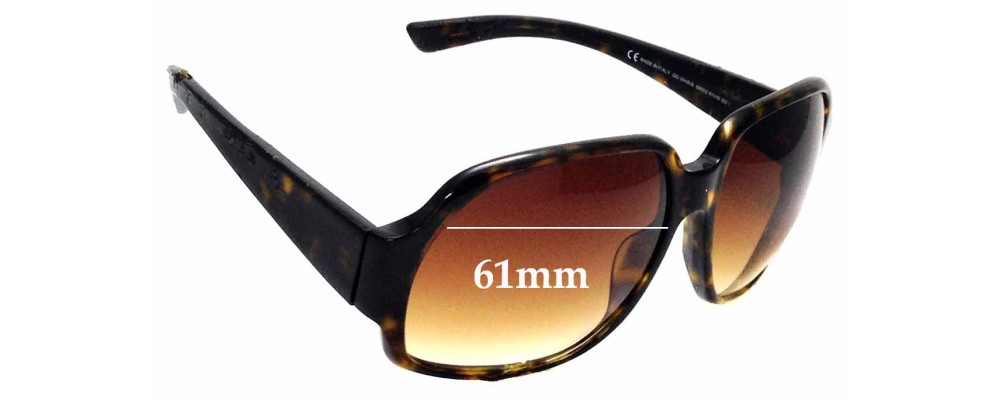Sunglass Fix Replacement Lenses for Gucci 2948/S - 61mm wide