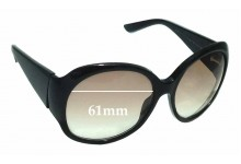 Gucci GG 2952/S Replacement Sunglass Lenses - 61mm