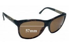 Gucci GG 3613/S Replacement Sunglass Lenses - 57mm wide