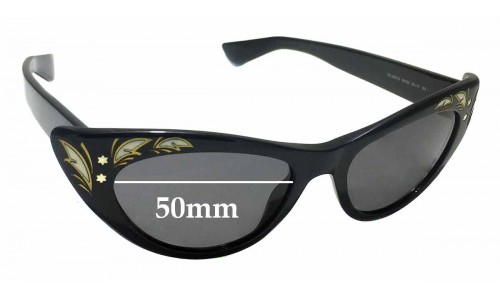 Sunglass Fix Replacement Lenses for Gucci GG 3807/S - 50mm wide