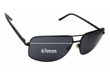 Guess GU6595 Replacement Sunglass Lenses - 63mm wide