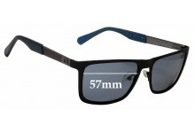 Sunglass Fix Replacement Lenses for Guess GU6842 - 57mm wide