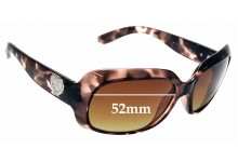 Sunglass Fix Replacement Lenses for Guess GU7168 - 52mm Wide