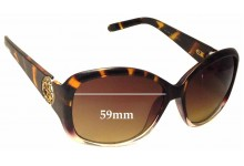 Guess GUP 2008 Replacement Sunglass Lenses - 59mm