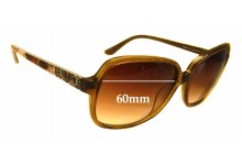 Guess GU7382 Replacement Sunglass Lenses - 60mm wide