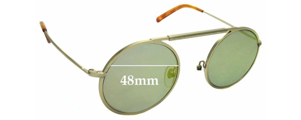 7a5176580c Sunglass Fix Replacement Lenses for Han Kjobenhavn Uncle - 48mm wide ...