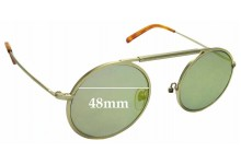 Sunglass Fix Replacement Lenses for Han Kjobenhavn Uncle - 48mm wide
