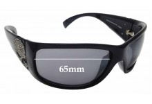 Sunglass Fix Replacement Lenses for Harley Davidson HDS 8004 - 65mm wide