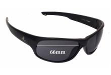 Hobie El Capitan Replacement Sunglass Lenses - 66mm Wide