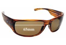 Sunglass Fix Replacement Lenses for Hobie Escondido - 65mm Wide