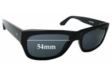 Sunglass Fix Replacement Lenses for Hurley Cell Block - 54mm wide