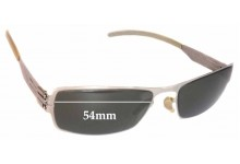 IC! Berlin Valentin Replacement Sunglass Lenses - 54mm wide