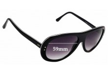 Sunglass Fix Replacement Lenses for Iceberg IG 85251 - 59mm Wide